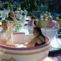 Tea Cups at Disneyland... a while ago.