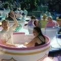 Tea Cups at Disneyland... a while ago.