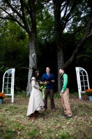 Wedding Ceremony with Jake and Trees