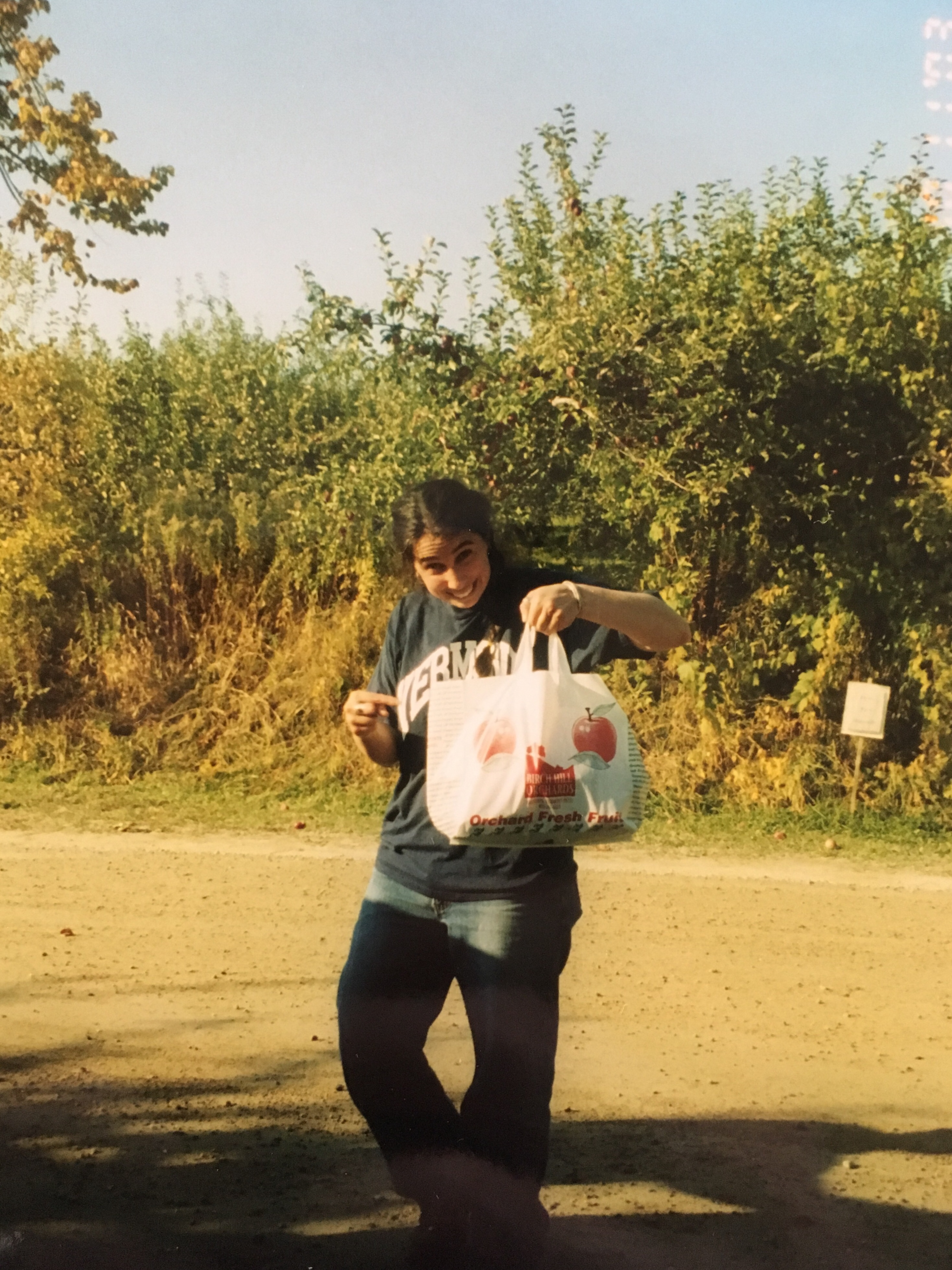 Kateri Apple Picking! Early 2000's?.. 03ish?