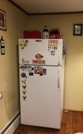 The Fridge after!